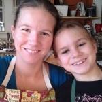 Cooking with one of my six kiddo's
