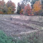 A view from the back of both plots.
