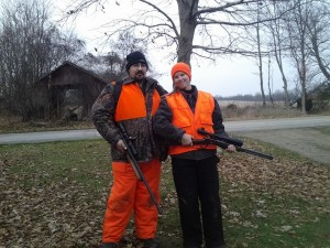 We had quite a few dates in the deer blind.